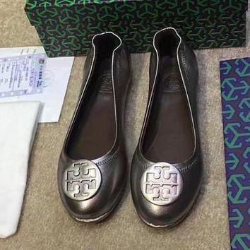 Tory Burch Women Fashion Slip-On Flats Shoes