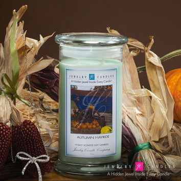Autumn Hayride Jewelry Candle