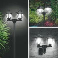 3 in 1 Solar Lamp Pole