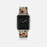 my butterflies and flowers Apple Watch Band (38mm) by Julia Grifol Diseñadora Modas-grafica | Casetify
