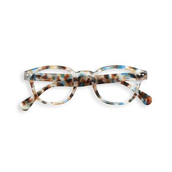 Izipizi - #C Blue Tortoise Eyeglasses / Screen Blue Light Clear Lenses
