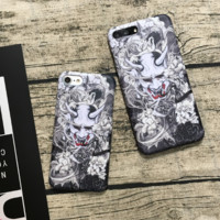 Fashion demon printed plastic Case Cover for Apple iPhone 7 7Plus 6 Plus 6 -005-12-Craftonline