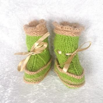 Ugg boots for baby with duble soles