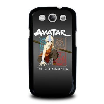 avatar last airbender samsung galaxy s3 case cover  number 1