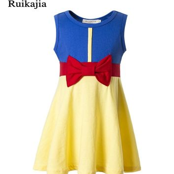infant children girl kids clothing baby dress newborn elsa dress baby girl clothing winter tutu dresses for girls