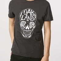 Washed Black Skull T-Shirt