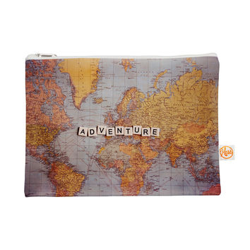 "Sylvia Cook ""Adventure Map"" World Everything Bag"