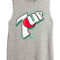 7-Up Cropped Tank