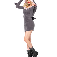 Cozy Shark Adult Womens Costume – Spirit Halloween