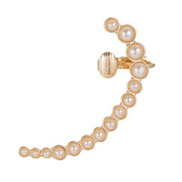 French 75 Pearl Earring Cuff