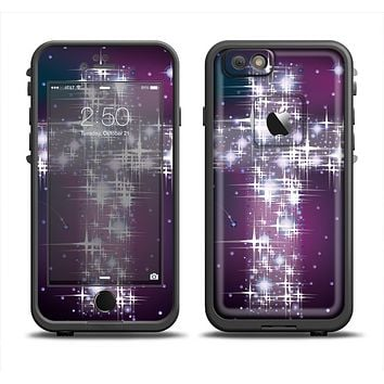 The Glowing Starry Cross Apple iPhone 6 LifeProof Fre Case Skin Set