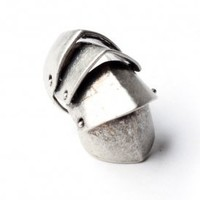 stil - knight armor ring (antique silver) | Stil | 80's Purple