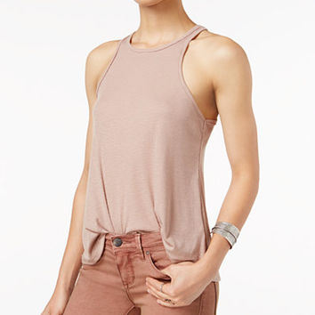 Free People Long Beach Ribbed Tank Top - Free People - Women - Macy's