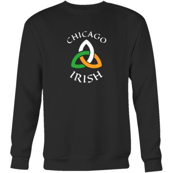 "Saint Patrick's Day - "" Chicago Irish Parade "" - custom made  funny apparel."