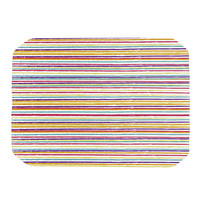 "Nika Martinez ""Summer Stripes"" Abstract Place Mat"