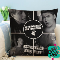 Wherever You Are - 5 Seconds of Summer Zippered Pillow Case, Cushion Case, Pillow case