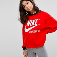 Nike Archive Sweatshirt In Red at asos.com