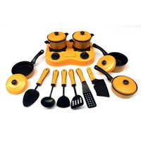 House Kitchen Toy Set 9/11/12/13pcs/lot Utensils Cooking Pots Pans