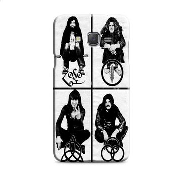 Led Zeppelin (members-with symbols) Samsung Galaxy J7 2015 | J7 2016 | J7 2017 Case
