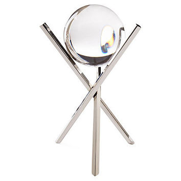 Dessau Home Crystal Ball Nickel X Sticks - Apl200