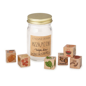 Pizza Topping Dice | popular pizza toppings