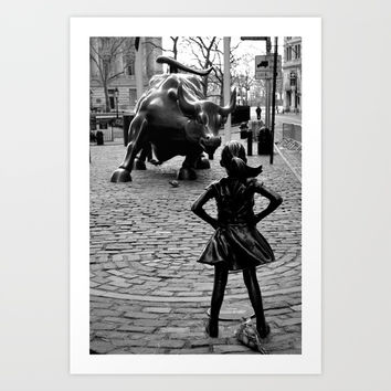 Fearless Art Print by Gold Street Photography