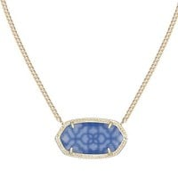 Dylan Pendant Necklace in Periwinkle - Kendra Scott Jewelry