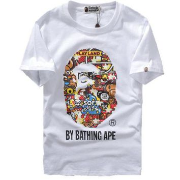 A Bathing Ape Baby Milo Zoo By Bathing T-Shirt