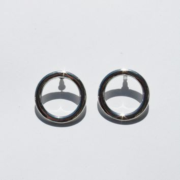 COMMON MUSE | Lia Circle Earring - Silver