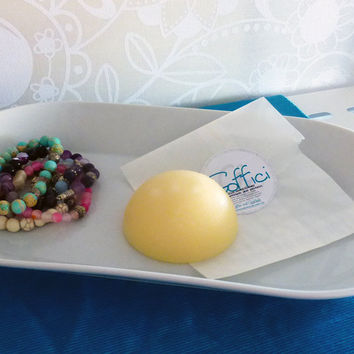 Soffici- solid hair conditioner bar with avocado oil, and pro vitamin b5 - organic and nogmo