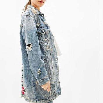 Casual Women's Denim Jacket