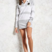 Patch Heathered Tunic