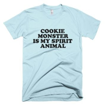 Sesame Street Cookie Monster Is My Spirit Animal T-Shirt