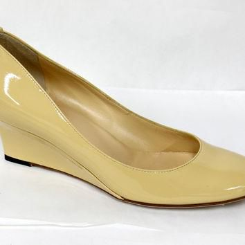 Gucci Swing Wedge Yellow Ladies Shoe 182112B81009303-38
