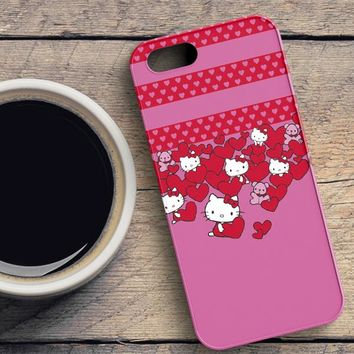 Hello Kitty Hearts iPhone SE Case