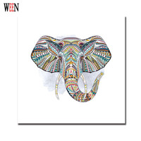 Elephant Pictures Watercolor Paintings Animal Decorative Picture Abstract Canvas Art Posters And Prints Modern Poster Vintage