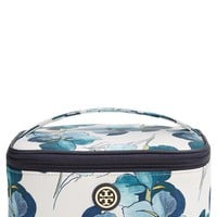Women's Tory Burch Floral Print Train Case - Persica Placed