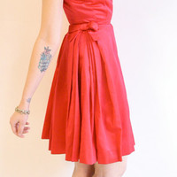 1950s dress // vintage 1950s dress // Rose Bloom Party