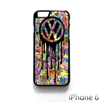 VW Volkswagen Bomb Sticker for Iphone 4/4S Iphone 5/5S/5C Iphone 6/6S/6S Plus/6 Plus Phone case