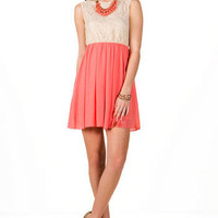 Lille Lace Dress                       - Francescas