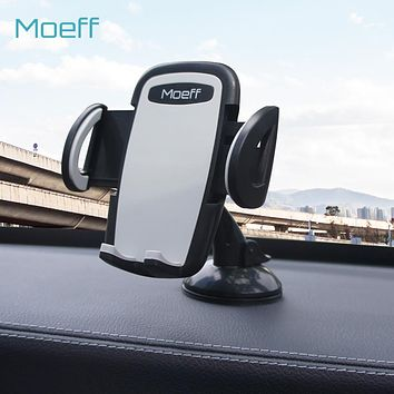 Moeff Universal Car Phone Holder Stand for Phone in Car Air Vent Mobile Support Cellular Phone Mount For Iphone 5 6 7Plus 8Plus