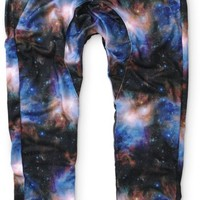 American Stitch Up In The Sky Galaxy Jogger Pants