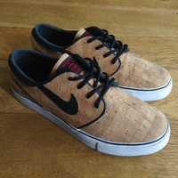 Limited Edition Custom Cork Nike Janoski's