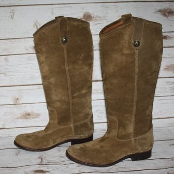 New FRYE Melissa Button Riding Boot (Size US 8.5)