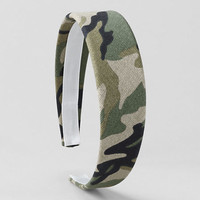 Girls' Patterned Wide Headband from Lands' End