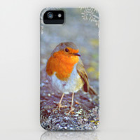 Robin Christmas iPhone & iPod Case by  Alexia Miles photography
