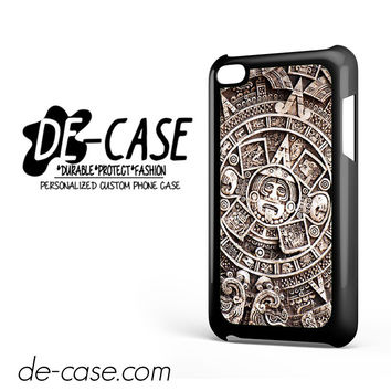 Maya Aztec Calendar DEAL-7007 Apple Phonecase Cover For Ipod Touch 4