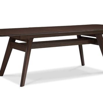 "Currant Extendable Dining Table (72"" - 92"") Bamboo Black Walnut"
