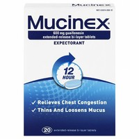 Mucinex 12 Hour Extended Release Expectorant Tablets | Walgreens