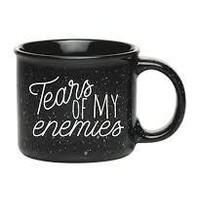 """Tears of My Enemies"" Mug"